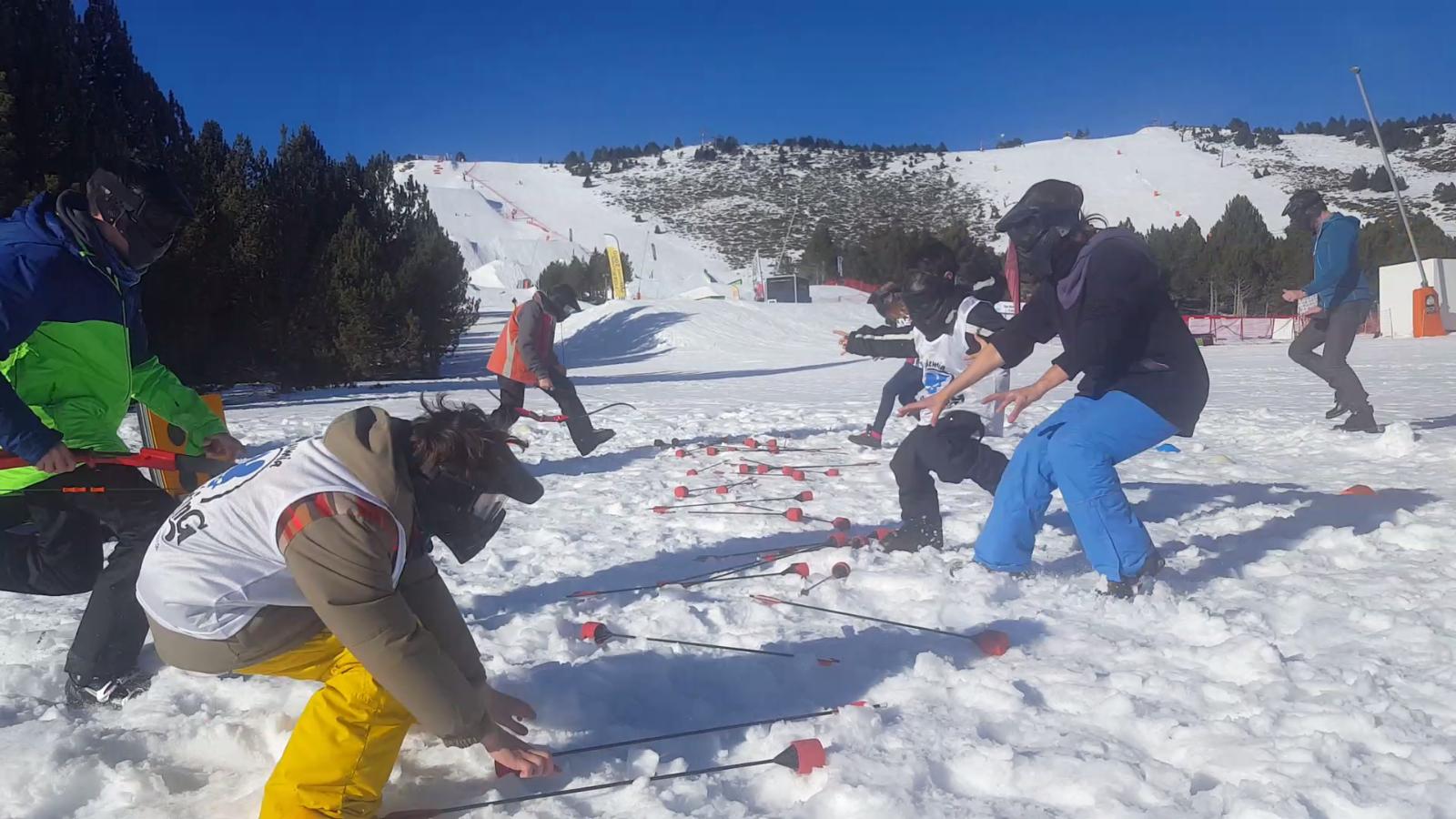 A la coupe du monde de ski Freesyle